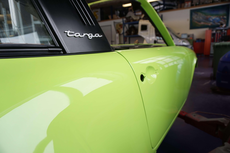 Targa Porsche Restauration Frame off