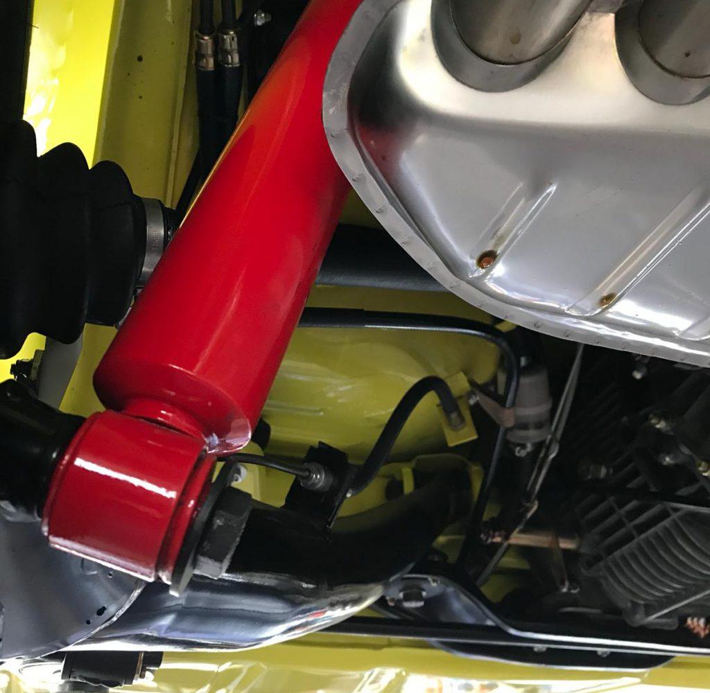 Porsche luftgekühlt Achsüberholung Restauration hier zu sehen